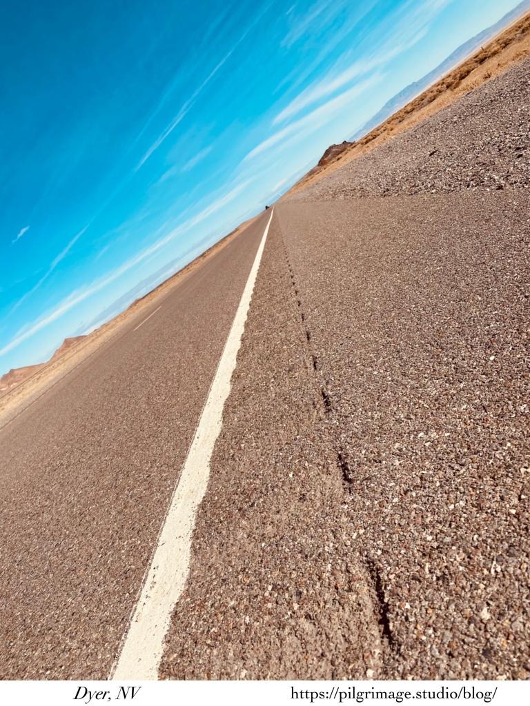 Long Road... sideways shot